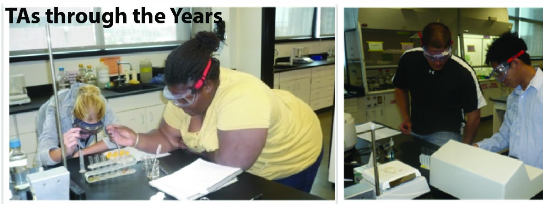 TAs through the years