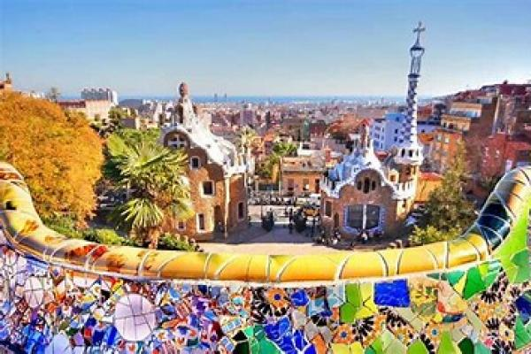 photo of gaudi buildings in Barcelona