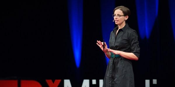 photo of Amy Hasinoff Ted Talk