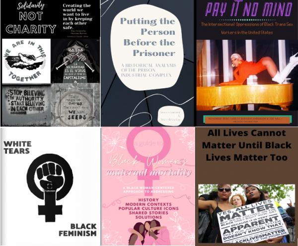 Black Lives Matter course Zines