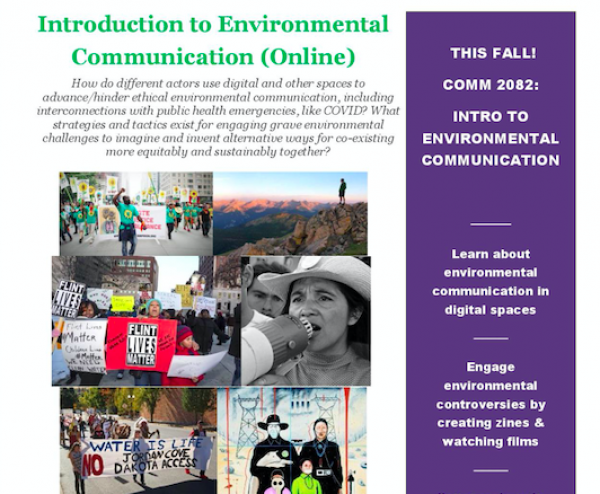 COMM 2082 Intro to Environmental Comm