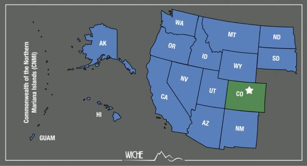 map of WRGP member states
