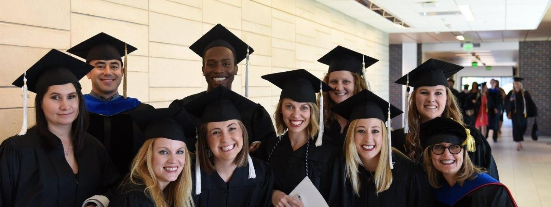 Picture of 2017 COMM MA graduates.