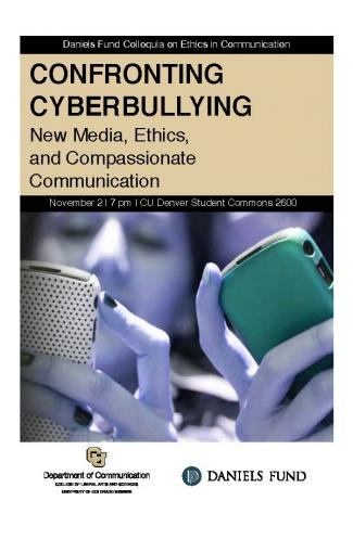 Cyberbullying program cover image