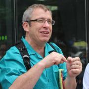 Political science professor Tony Robinson