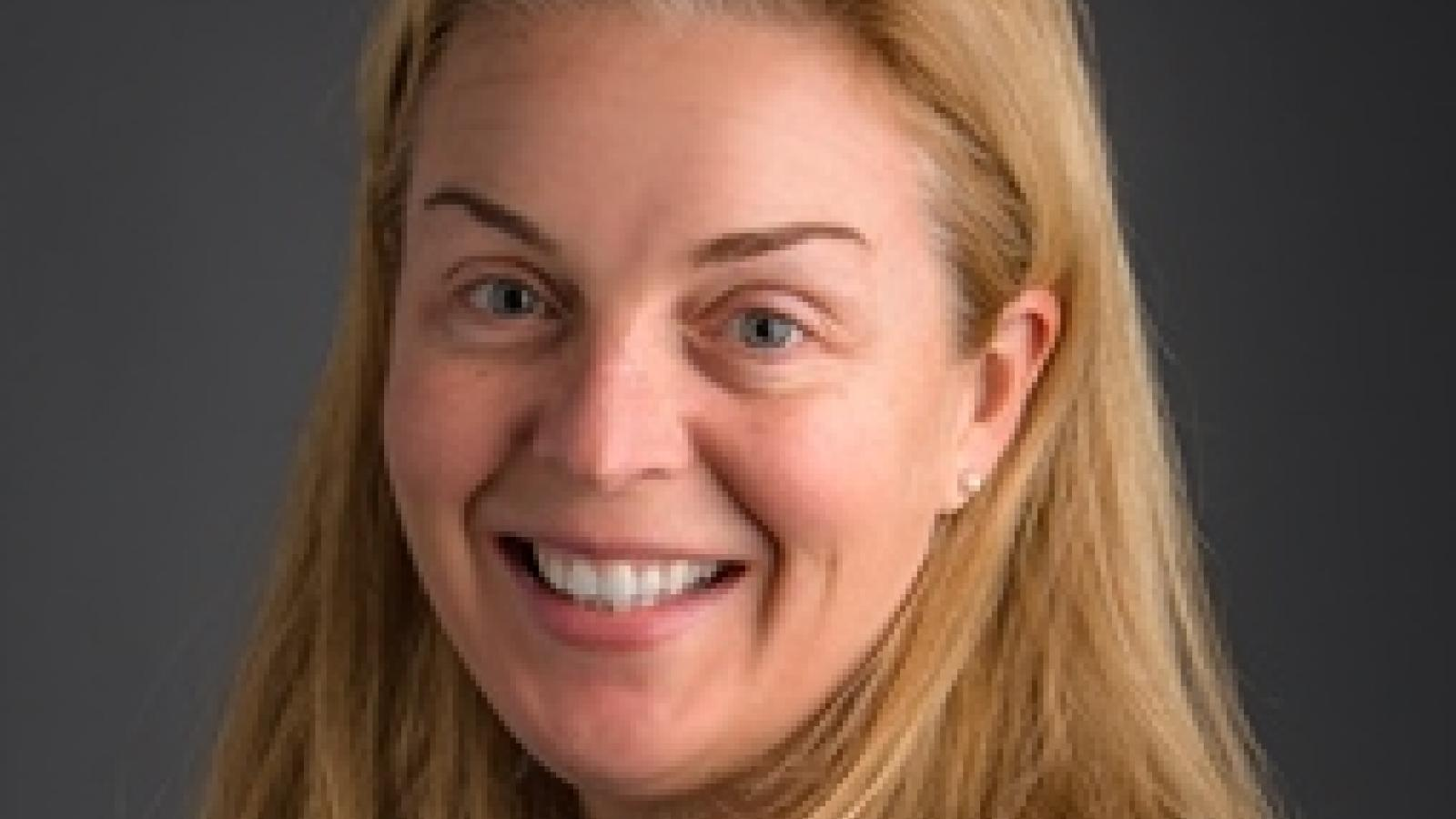 Cristina Sloan, Associate Director of Development for CLAS