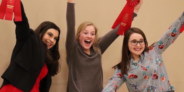 students winning