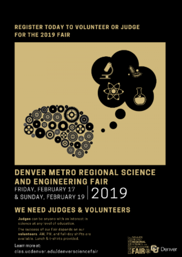 science fair judge flyer