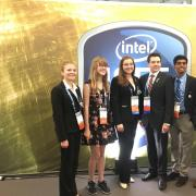 students at intel isef