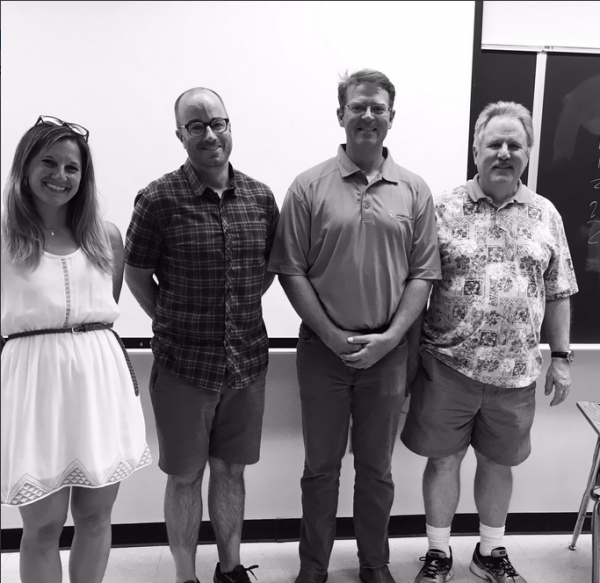 Abbi Heller, Keith Garvert, Kyle Crawford, Rich Argys