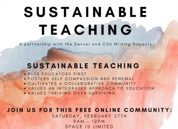 Sustainable Teaching Institute Spring Retreat 2021