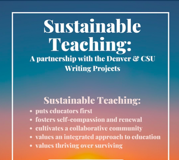 Sustainable Teaching Institute July 19 - 23