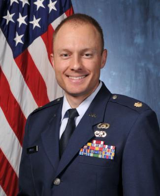 Major Bryson Rintala, U.S. Air Force