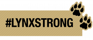 LynxStrong text in gold box