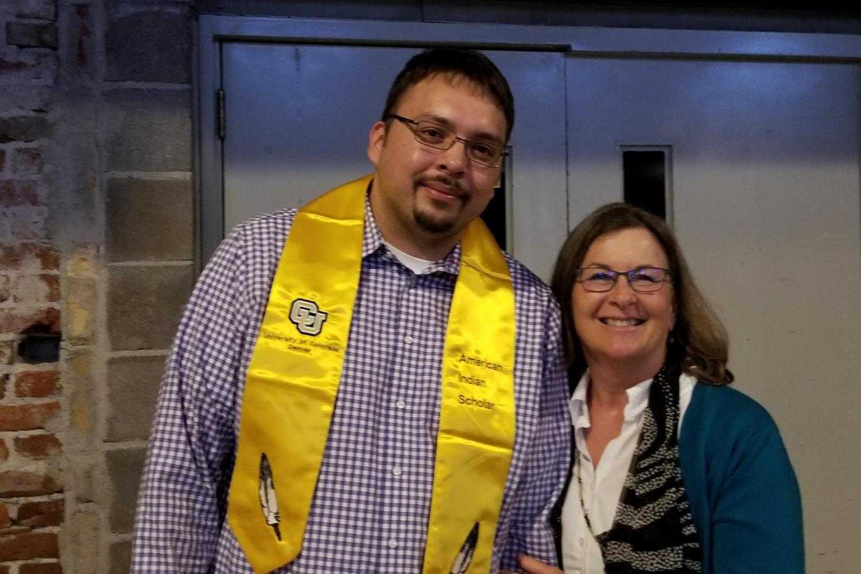 Indigenous student graduation ceremony