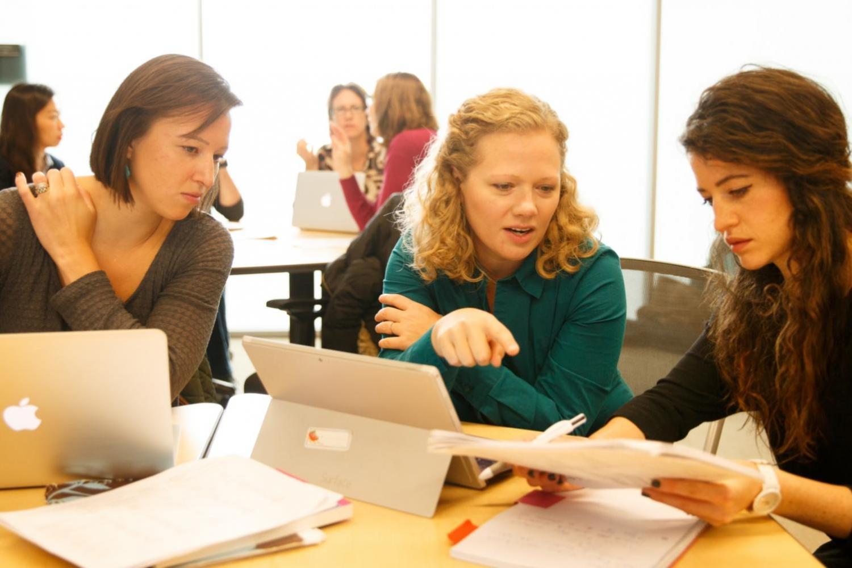 Photo of Sociology Dept teaching setting.