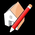 Graphic of sketchup logo