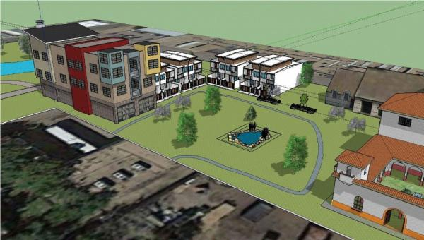 Using SketchUp to do a Preliminary 3D Site-plan | Facility