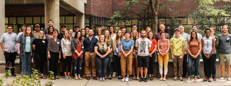 GES Fall 2019 Graduate Cohort