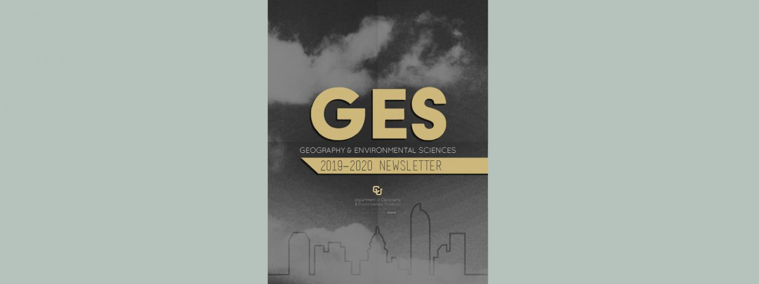 GES Newsletter 2019-2020 Cover Page