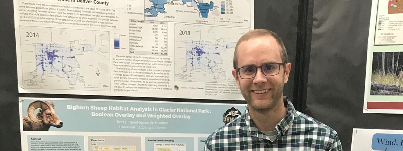 Andrew Steger at Denver GIS Day