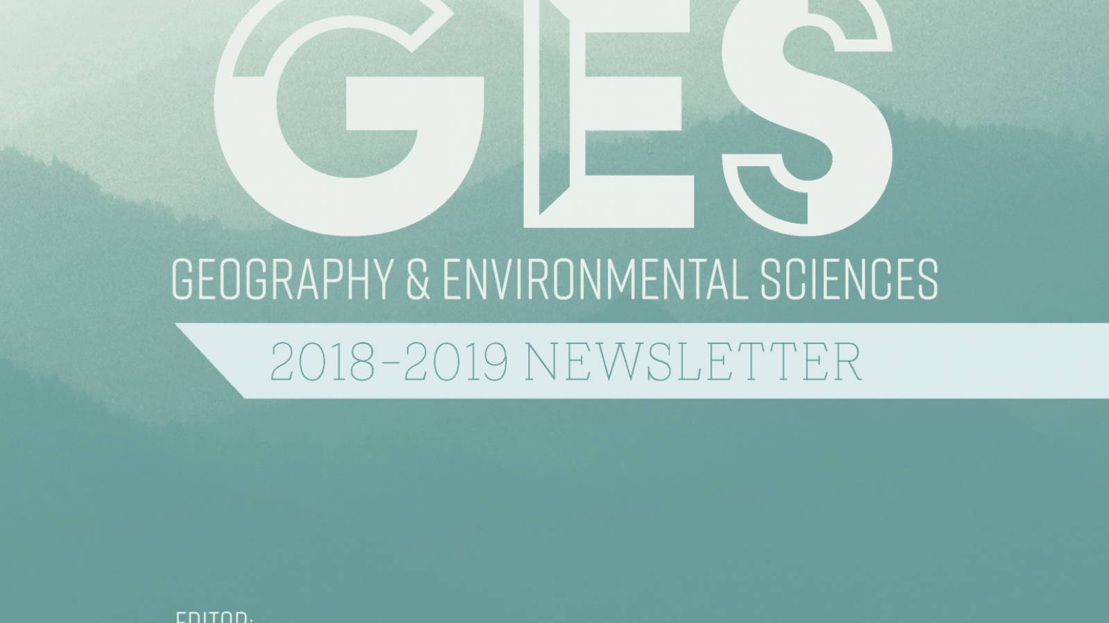 GES Newsletter Cover