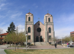 Photo of Cajetan's Catholic Church in color