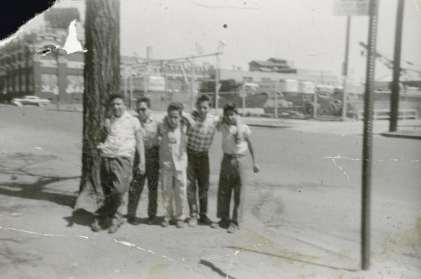 Photo of boys in auraria hispanic neighborhood