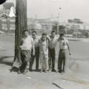 photo of friends in auraria neighborhood