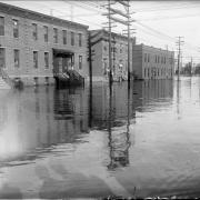 Photo of flood of 1933 in Denver