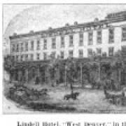 Photo of historic lindell hotel