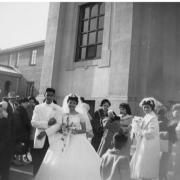 Photo of wedding at St. Cajetan's Church