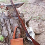 Photo of a Hawken Rifle