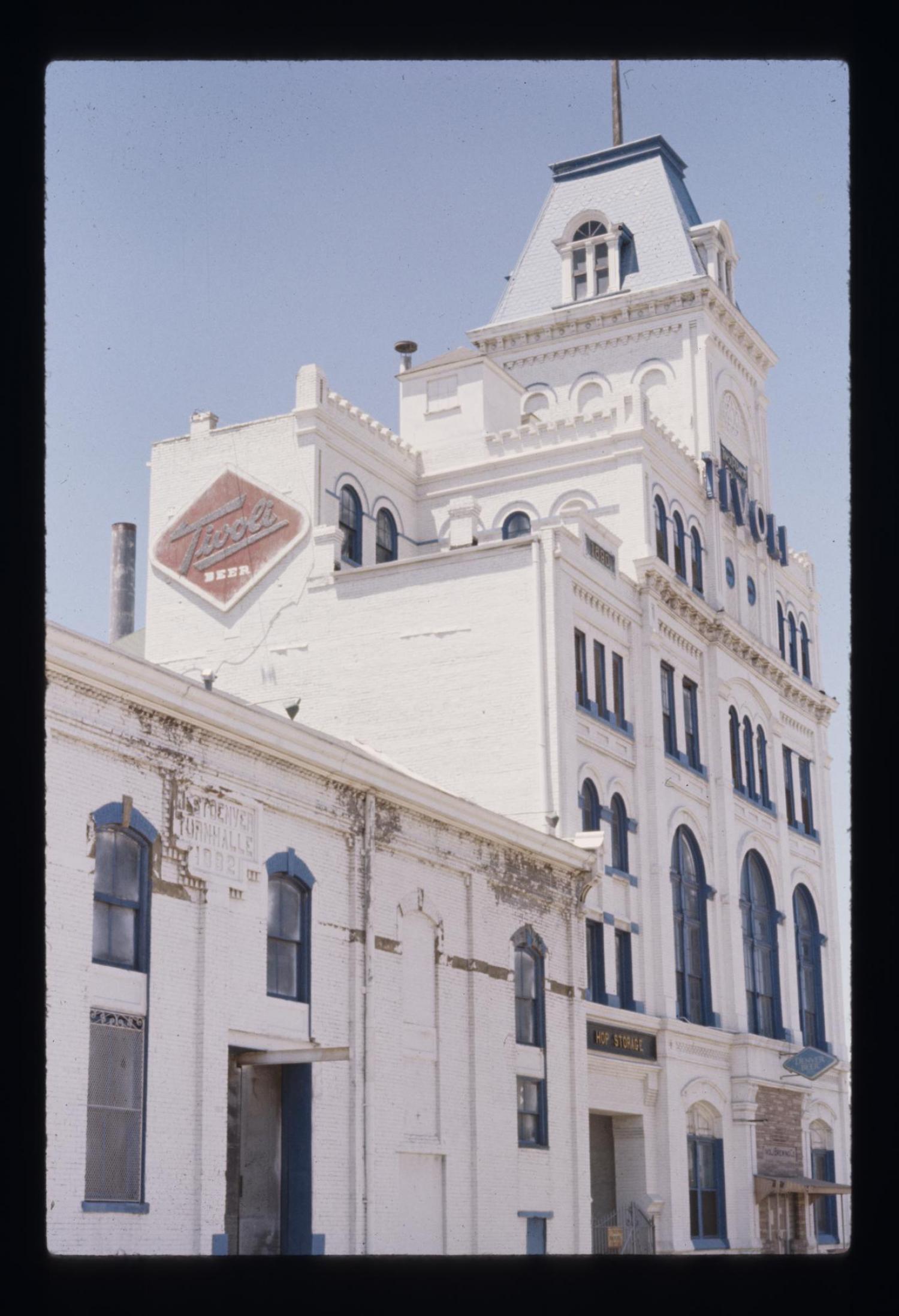 historic photo of Tivoli Student Union