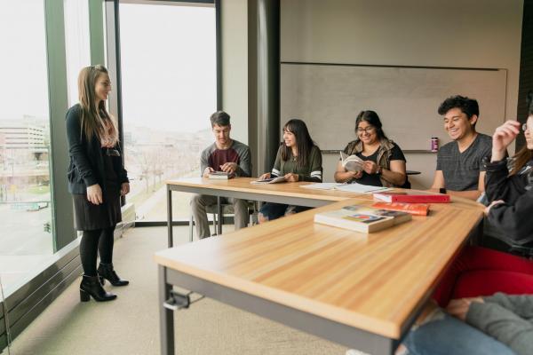 Elena Touryan teaching