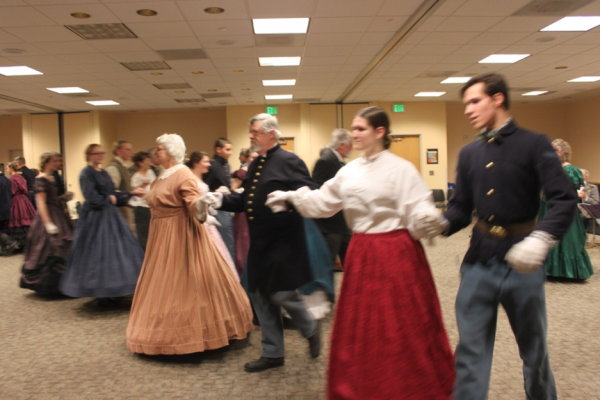 dancers learning at the ball