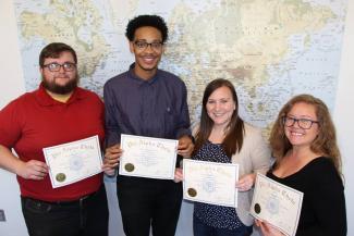 Phi Alpha Theta honors students