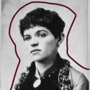 Black and white photo of Adelaide Bartlett
