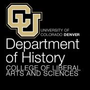 CU Denver history department logo.