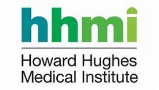 HHMI logo show text with Howard Hughes Medical Institute