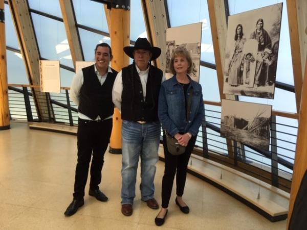 Dr. Tomback, Shaun Chapoose, Braiden Weeks photo