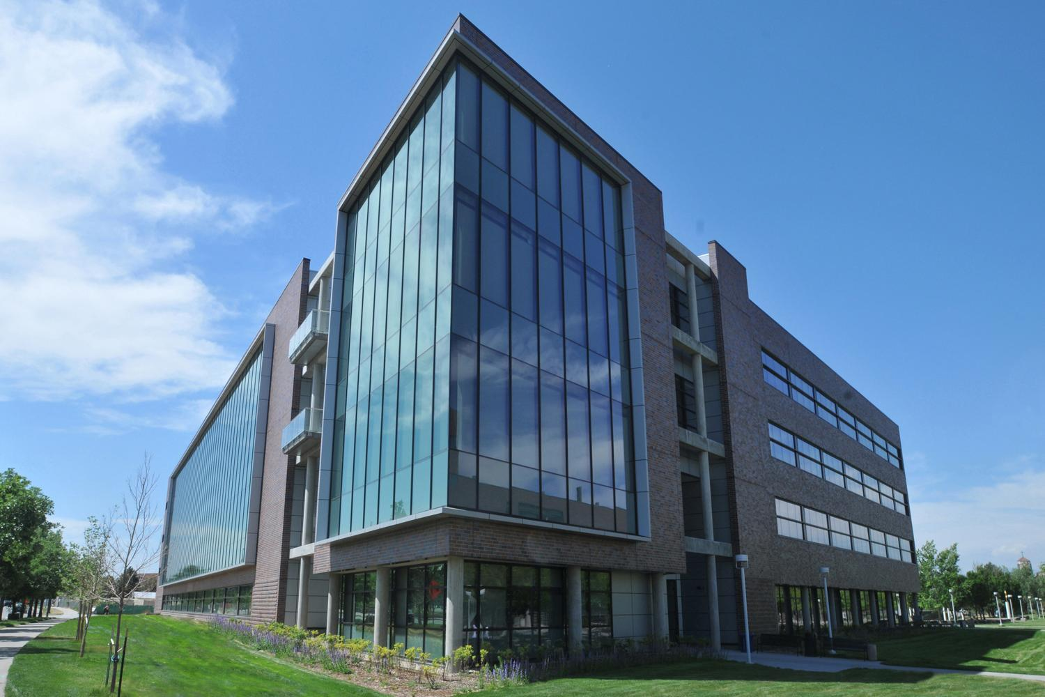 view of the Science Building