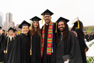 Student graduation photo