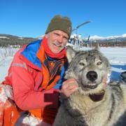 Dr. Smith and wolf photo