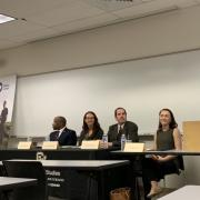 Images of panel participants