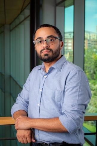 Photo of MARC Scholar Mauricio Garcia