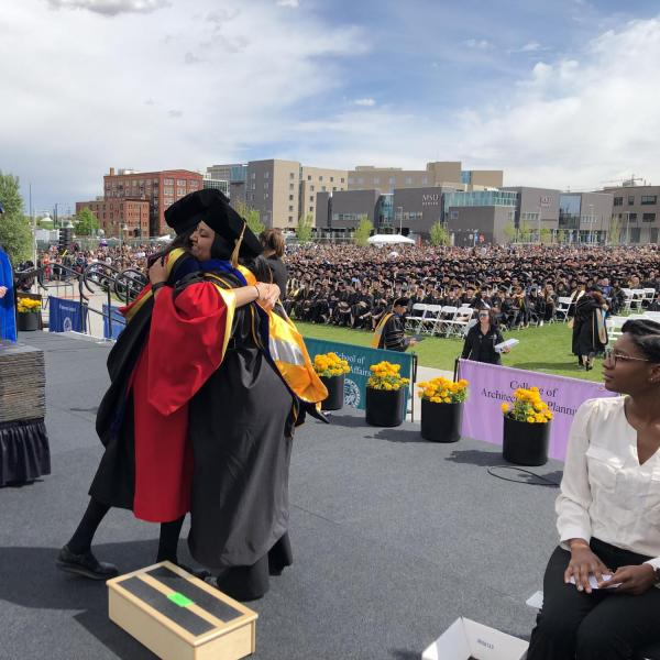 Munira's Ph.D. graduation