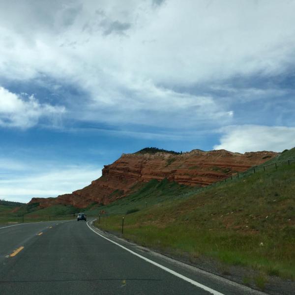 Landscape taken on the road