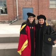 Annika and Munira-Graduation