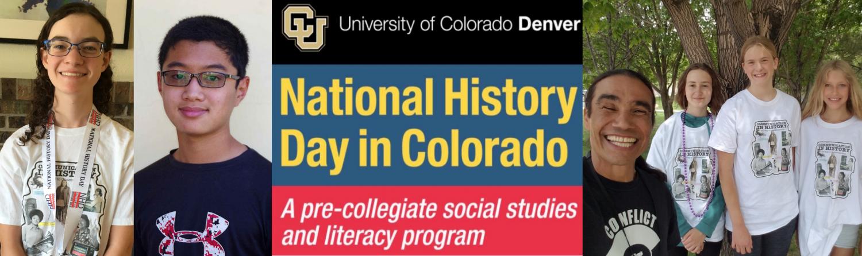 university of colorado denver national history day in colorado a pre-collegiate social studies and literacy program